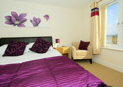 Bedroom #1 @ 1 Harbour View, Newquay