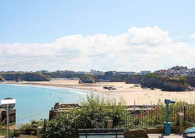 The view from bedroom #1 @ 1 Harbour View, Newquay