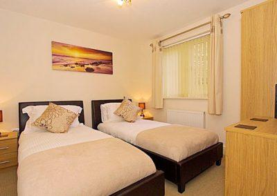 Bedroom #2 @ 1 Harbour View, Newquay