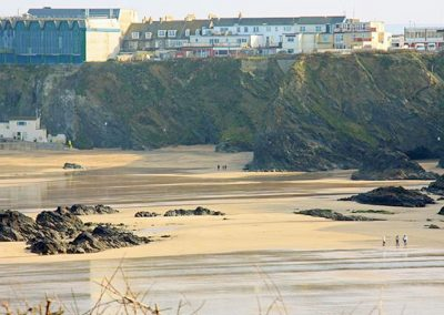 The view from 1 Harbour View, Newquay
