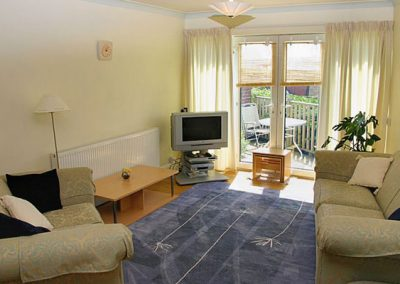 The living area @ 1 Roundham Heights, Paignton
