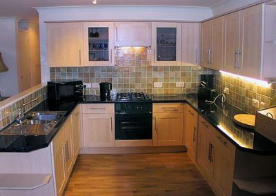 The kitchen @ 1 Roundham Heights, Paignton