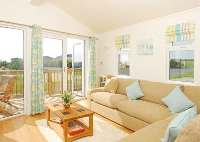 The living area @ 1 Salcombe Retreat, Salcombe