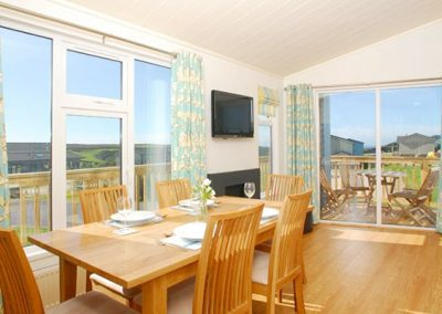 The dining area @ 1 Salcombe Retreat, Salcombe