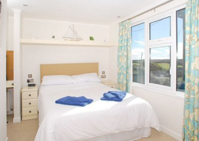 Bedroom #1 @ 1 Salcombe Retreat, Salcombe