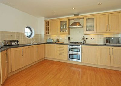 The kitchen @ 10 Horizons, Newquay