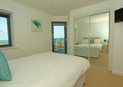 Bedroom #1 @ 10 Horizons, Newquay