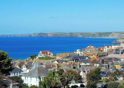 View from Horizons, Newquay