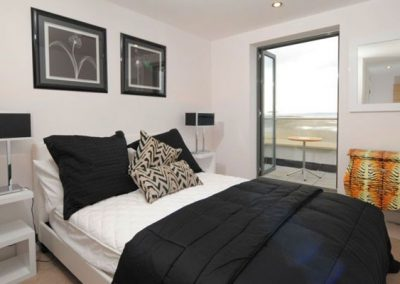 Bedroom #1 @ 10 Ocean Point, Saunton