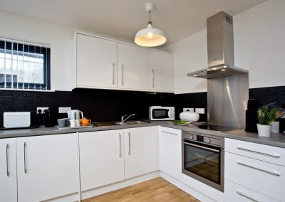 The kitchen at 10 Seaquest, Newquay