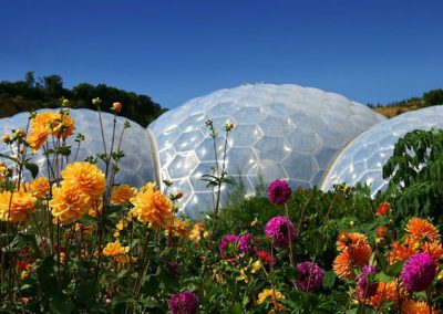 Enjoy a day at the nearby Eden Project
