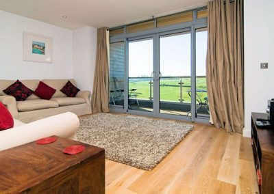 Outstanding views from the living area @ 11 Cribbar, Newquay