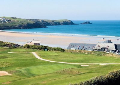Fistral Beach is only a short walk away from 11 Cribbar, Newquay