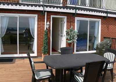 The terrace @ 11 Sunhill Apartments, Paignton