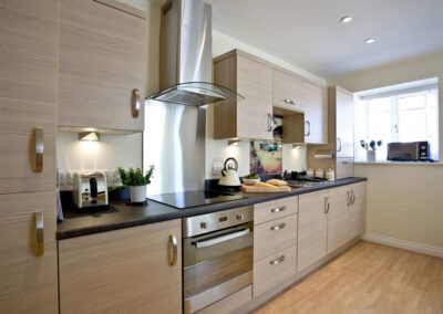 The kitchen at 12 Seaford Sands, Paignton