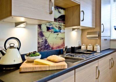 The kitchen at 12 Seaford Sands, Paignton