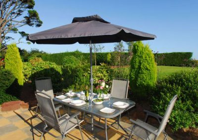 Relax on the patio @ 12 The Manor House, Torquay