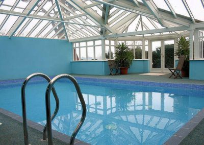 The swimming pool @ The Manor House, Torquay