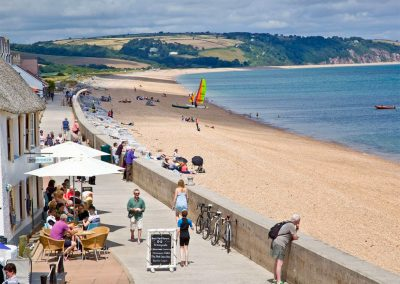 Slapton Sands promenade is moments from 14 At The Beach, Torcross