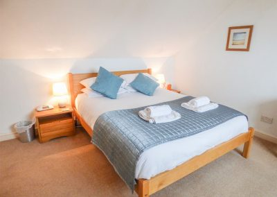 Bedroom #1 at 14 Bramble Hill, Bude