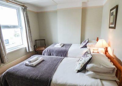 Bedroom #3 at 14 Bramble Hill, Bude
