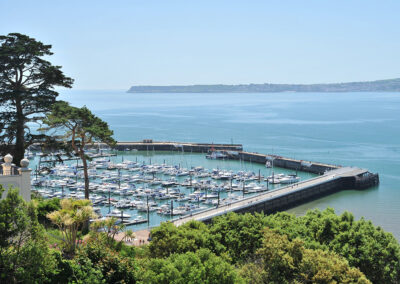 The view from 16 Astor House, Torquay