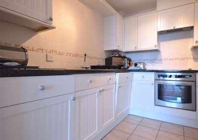 The kitchen at 16 Belvedere Court, Paignton