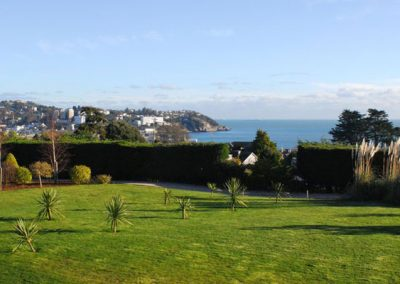 Views from the communal garden @ The Manor House, Torquay