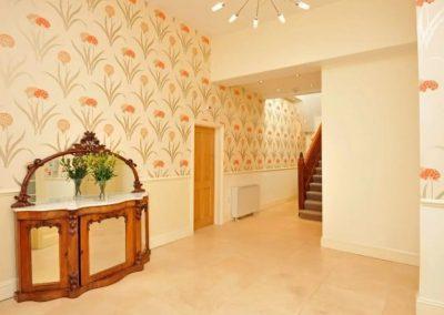 The hallway at 17 Astor House, Torquay