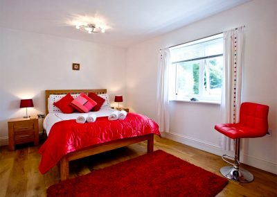 The bedroom at 19 At the Beach, Torcross