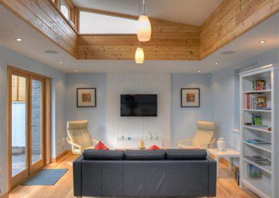 The living area at 2 Dart, Yalberton