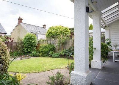 The front garden at 2 Dart, Yalberton