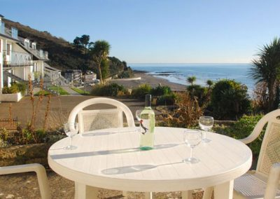 The terrace @ 2 Mount Brioni offers a perfect place to relax and enjoy the view