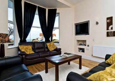 The living area @ 2 The Old Edwardian, Newquay