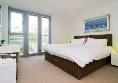 Bedroom #1 @ 21 Zinc, Newquay