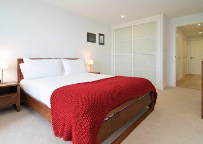 The bedroom @ 22 Ocean Gate, Newquay