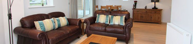 A luxury apartment in a perfect location overlooking Fistral Beach