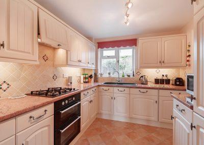 The kitchen @ 24 Steed Close, Paignton