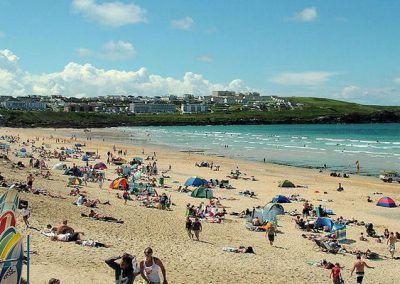 Zinc is a stones throw from the legendary Fistral Beach