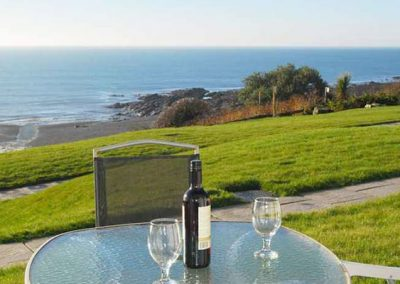 The terrace @ 25 Mount Brioni, Seaton is perfect for taking in the seaview
