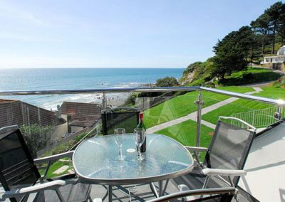 The balcony offers great sea views @ 27 Mount Brioni, Seaton