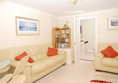 The living area @ 28 Moorings