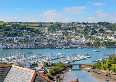 3 Dolphin Court, Brixham is within touching distance of the harbour