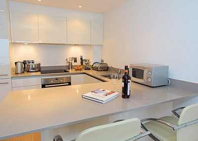The kitchen @ 3 Fistral Beach, Newquay