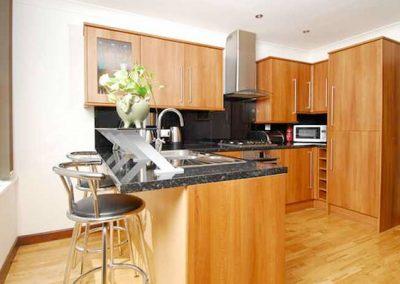 The kitchen @ 3 High Gables, Paignton