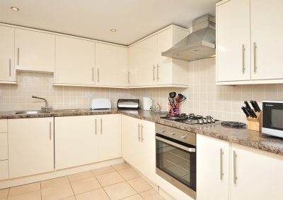 The kitchen at 30 Trinity Mews, Torquay