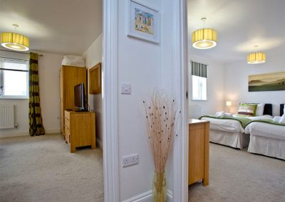 The hallway at 31 Bredon Court, Newquay