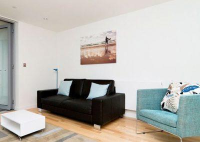 The living area @ 32 Zinc, Newquay