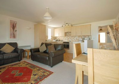 The living area @ 4 Belvedere Court, Paignton