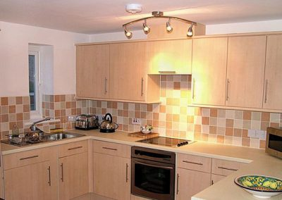 The kitchen @ 4 Belvedere Court, Paignton